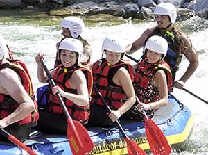 Rafting Isar